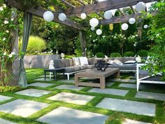 From patio string light ideas to outdoor chandeliers, find all kinds of pergola light ideas to make your deck or patio look gorgeous at night Pergola Lighting, Outdoor Pergola, Outdoor Lighting, Outdoor Decor, Lighting Ideas, Pergola Roof, Cheap Pergola, Pergola Kits, Outdoor Rooms