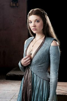 Margaery Tyrell, wife to Renly Baratheon - costumes used in Game of Thrones