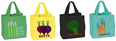 Viva Vegetables small tote bags