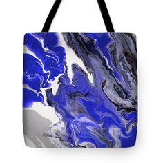The Rivers Of Babylon Fragment. Abstract Fluid Acrylic Painting Tote Bag for Sale by Jenny Rainbow Artwork For Home, Fluid Acrylics, Different Patterns, Basic Colors, Abstract Pattern, Bag Sale, Rivers, Light Colors, Tote Bags