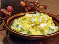 Homemade Leek Creamed Corn • Curious Cuisiniere