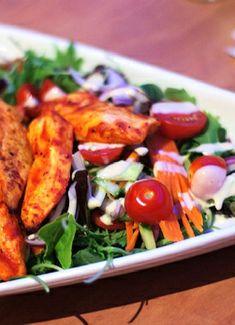 Low FODMAP & Gluten free Recipe - Indian chicken salad http://www.ibssano.com/low_fodmap_recipe_indian_chicken_salad.html