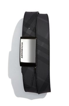 Burberry Check Print Belt available at #Nordstrom