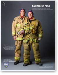 2013 Cap Campaign  Southern California Firefighters,Tony Crenshaw and Ryan Penrod.Tony's water polo career began at Costa Mesa High School and Costa Mesa Aquatic Club, and continued to California State University Long Beach, where he received a water polo scholarship. Ryan's water polo career began at La Serna High School and continued at the University of La Verne where he was a member of their Division III NCAA Water Polo Championship Team.