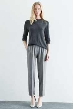 Check out this Belted High Waisted Trouser from Warehouse.