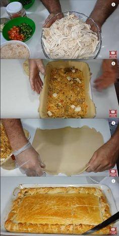 Torta de Frango de Feira  #torta #tortadefrango #receitadetorta #frango #receitadetorta