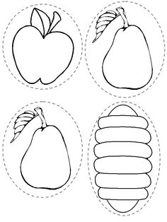 Fabulous Very Hungry Caterpillar Coloring Pages