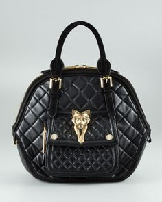 Quilted Hexagonal Tote Burberry
