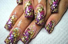 Diseños de uñas en fotos, diseño de uñas en fotos - profesional.   #manicuras #nailsdesign #uñassencillas