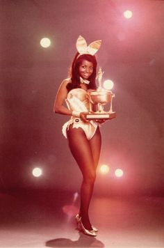 Pat Lacey - one of the first African American playboy bunnies