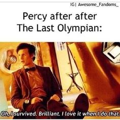 Heroes of Olympus Percy Jackson and the Olympians <3 ❤ liked on Polyvore featuring percy jackson, doctor who, fandoms, pjo, quotes, text, phrase and saying