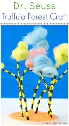 Happy Birthday, Dr. Seuss - Lorax Craft