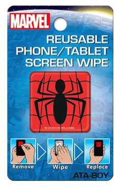Marvel Spiderman Screen Wipe
