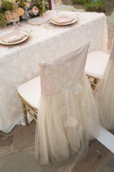 Free shipment flower embroidered wedding chiffon chair cover for Wedding decoration event product party decorations Wedding Chair Decorations, Wedding Chairs, Wedding Tables, Chair Cover Rentals, Holiday Centerpieces, Wedding Designs, Wedding Ideas, Linens And Lace, Chair Covers