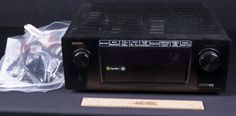 DENON INTEGRATED NETWORK AV RECEIVER - AVR-X4100W. COMES WITH INSTRUCTIONS. IN COMMAND SERIES..