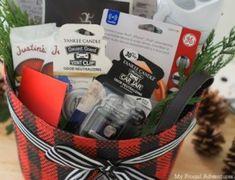 120 DIY Christmas Gift Baskets - /cdn-cgi/l/email-protection /cdn-cgi/l/email-protection Christmas Cookies Gift, Christmas Gift Baskets, Homemade Christmas Gifts, Homemade Gifts, Holiday Gifts, Christmas Diy, Holiday Fun, Themed Gift Baskets, Wine Gift Baskets