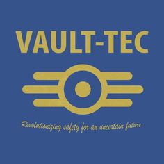'Fallout - Vault Tec' Women's Relaxed Fit T-Shirt by MillzyMerch Fallout Theme, Fallout Art, Fallout New Vegas, Fallout Logo, Wayland Yutani, Fallout 4 Vault Tec, Fallout Tattoo, Youtube Banner Template, My Better Half