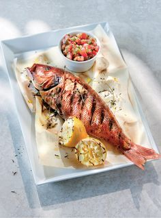 Red Snapper, the Greek Way!