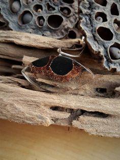 hout en resin-hout en epoxy-hars sieraden-rode hars-hout hars