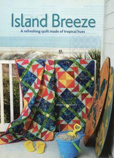 Island Breeze Quilt Pattern Pieced JK