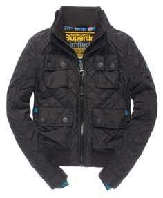 Superdry Quilted Bomber Jacket