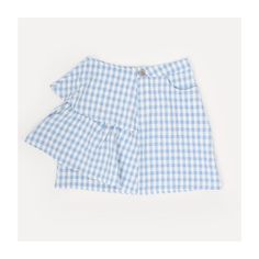 Can't get enough of gingham? Neither can we. The Baby Blue Gingham Side Ruffle Mini Skirt has just landed find it online: LM170322-B £22  www.lola-may.com  #fashion #flatlay #gingham #style #minimal #blue #cute #ruffles #bloggers #bloggerstyle #instagram #inspiration #style #fashionable #wiwt #ootd #instafashion #gingham #ss17