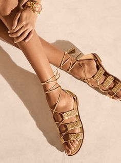 Shop sexy designer sandals from the official Michael Kors site. All flat, gladiator and wedge sandals ship free today!