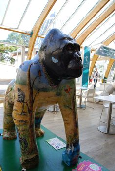 3 September | Norwich |  GoGoGorilla Walk on the Wild Side in the Castle Mall food hall