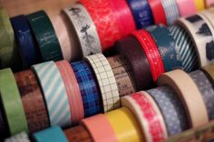 masking tape Masking Tape, Washi Tape, Inspiration Boards, Hobbies, Office Supplies, Packaging, Exterior, Holiday, How To Make