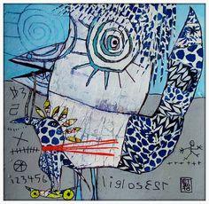 The Art of Fibrite, Elketrittel, mixed media artist.  IMG_5103j