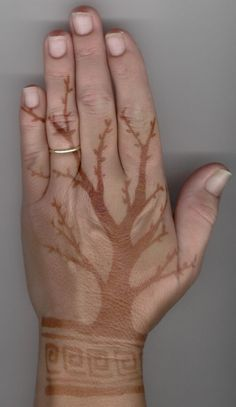 Henna Tree Tattoo