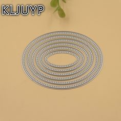 KLJUYP 6pcs Oval Shape Metal Cutting Dies Stencils for DIY Scrapbooking/photo album Decorative Embossing DIY Paper Cards-in Cutting Dies from Home & Garden on Aliexpress.com | Alibaba Group