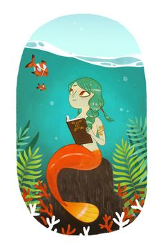 """""""Historie d'eau"""" by Romain Mennetrie    I have a thing for mermaids."""