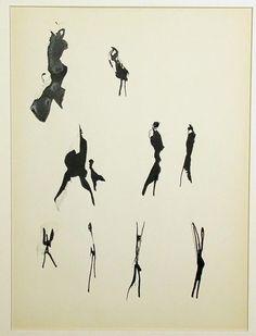 Michaux, Mouvements, 1951