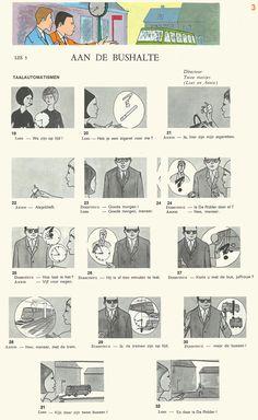 Audiovisuele Methode Nederlands : les 3 - Aan de bushalte [3] - taalautomatismen
