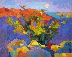 larisa aukon paintings | Valley of The Moon 24x30, oil www.aukonlarisa.com