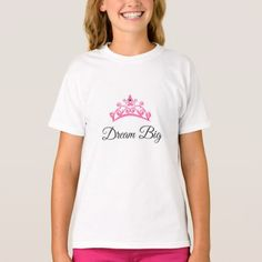 Miss America USA Girl's Dream Big Tiara Top - girl gifts special unique diy gift idea