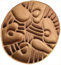 Color, Pattern, Texture, Coral, Path, Jonna Kuusisto, Designer, stoneware, wallhanging #ceramic #carving #coral #tan #umbra #brown #iron Ceramic Art, Stoneware, Coral, Carving, Iron, Pottery, Ceramics, Texture, Studio