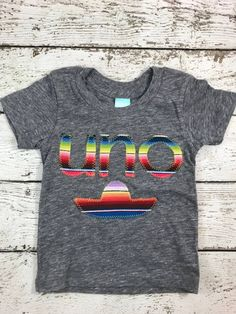 New lil threadz design posted! uno shirt dos shirt Fiesta party sombrero first fiesta birthday shirt mexican blanket birthday fiesta childrens tee mexican party by lilthreadzclothing Fiestas Party, Pinata Party, Mexican Party, Birthday Celebration, 2nd Birthday, Birthday Ideas, Kid Names, Birthday Shirts, Different Fabrics