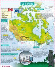 Le Canada - Mon Quotidien, le seul site d'information quotidienne pour les 10-14 ans !
