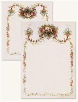 Cascade Victorian Floral Stationery Set