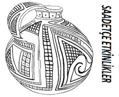 Amazing: Texas museum coloring pages Bear Coloring Pages, Printable Adult Coloring Pages, Coloring Pages For Kids, Coloring Sheets, Coloring Books, Indian Ceramics, Greek Pottery, Native American Pottery, Tribal Tattoos