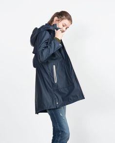 Raincoats For Women Rain Coats Cheap Raincoats, Raincoats For Women, Outerwear Women, Navy Raincoat, Hooded Raincoat, Nylons, Rain Jacket Women, Rain Wear, Blazer Jacket