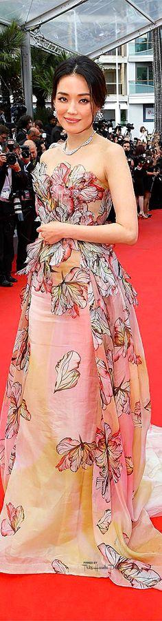 #Shu #Qi in Elie Saab Couture♔ Cannes Film Festival 2015 Red Carpet ♔ Très Haute Diva ♔