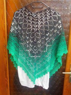 Runa's Dies&Das pattern by Sigrun Raith - Tuch zum Häkeln mit Grafiken  ----  shawl to crochet with grafics