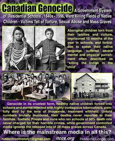 canadian genocide , native american children