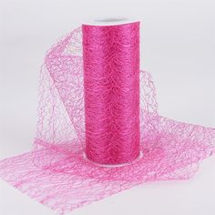 Sisal Mesh Wrap Rolls Fuchsia ( 18 x 10 Yards ) - Buy Quality ribbons, tulle fabric, floral mesh and all your craft need at one stop at affordable price and low shipping cost from Ribbons. Types Of Craft, Tulle Fabric, Yard Sale, Sisal, Pillar Candles, Rolls, Mesh, Gift Wrapping, Shapes