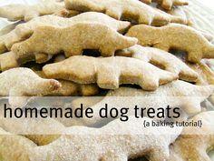 Alexandra Rose: Homemade dog treats - and a happy Lenny