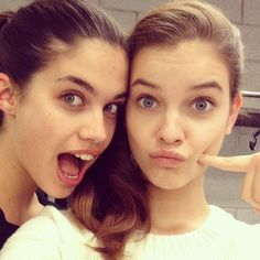 Find images and videos about model, barbara palvin and sara sampaio on We Heart It - the app to get lost in what you love. Barbara Palvin, Michael Phelps, Michael Jordan, Friend Book, Silly Faces, Usain Bolt, Sara Sampaio, Victoria Secret Angels, Just Friends