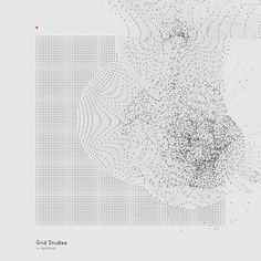 skullvisiter:  Generative Sketches (); Grid Studies by Refik Anadol, via Behance